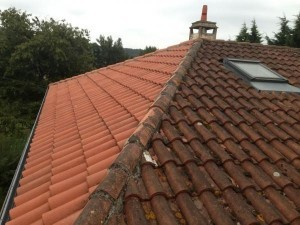 nettoyage de toiture Forcalqueiret